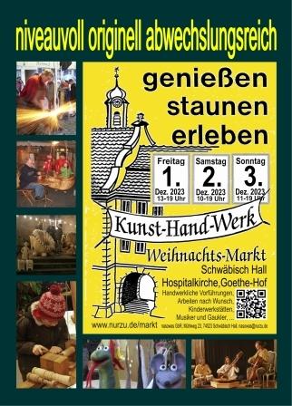 Handzettel Kunst-Hand-Werk-Markt